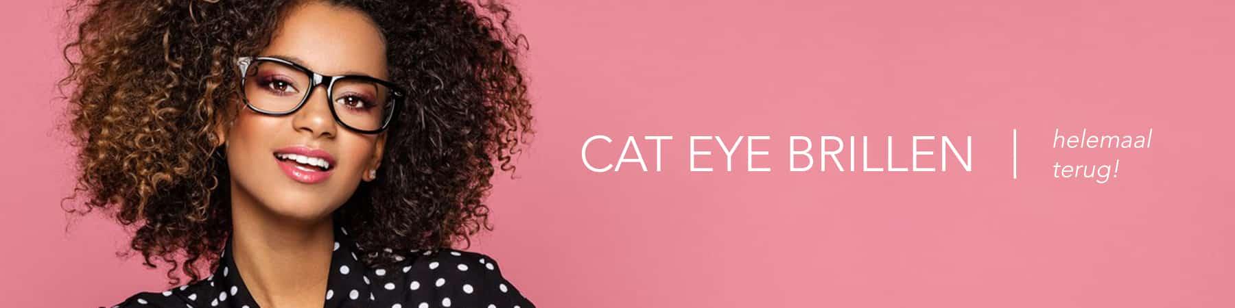 cat eye vlinderbrillen