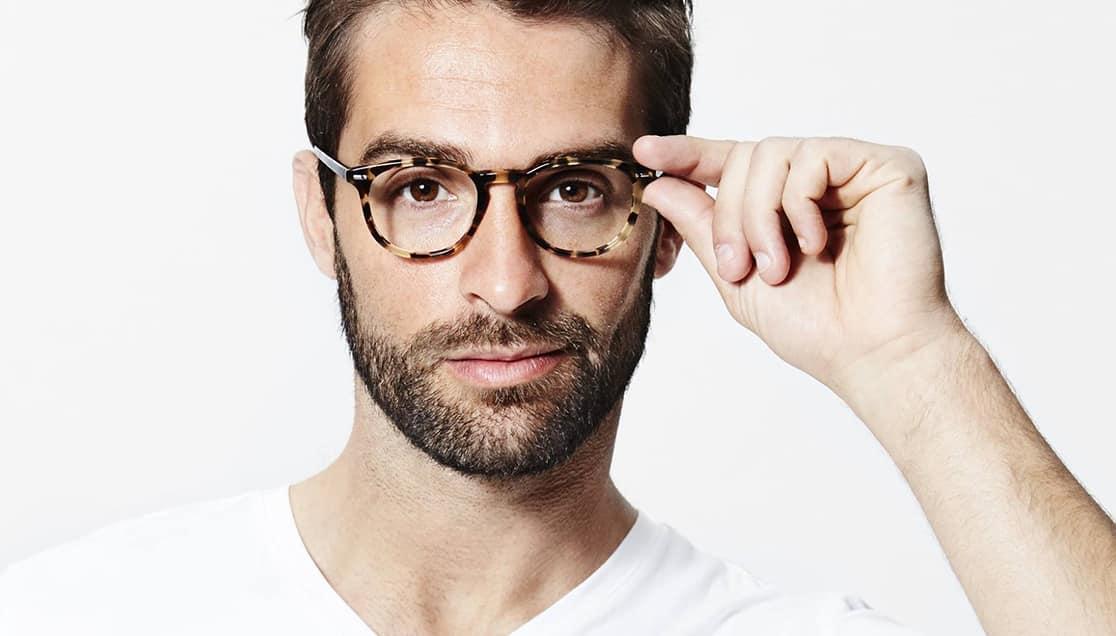 bril langwerpig gezicht