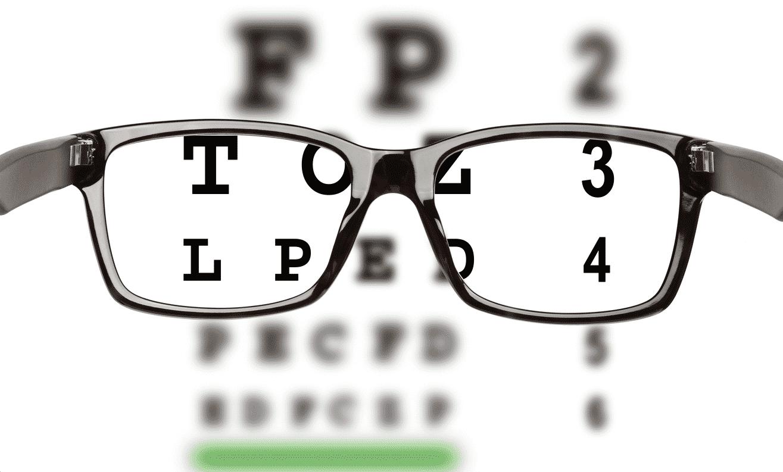 bril scherp zien
